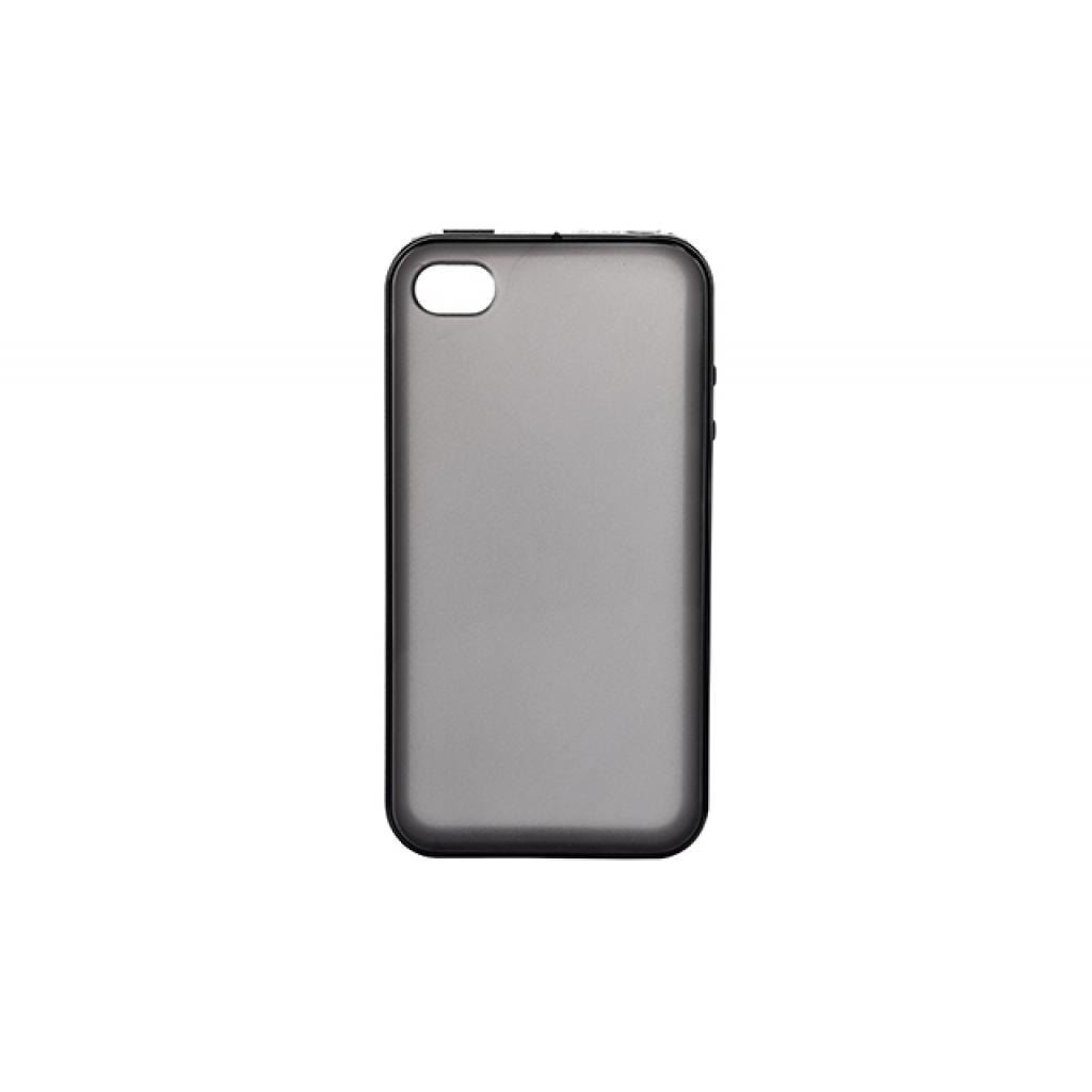 Чехол для моб. телефона для Apple Iphone 4 (Black Clear) Elastic PU Drobak (210275)