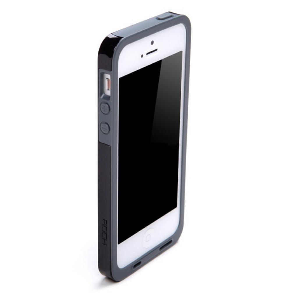 Чехол для моб. телефона Rock iPhone 5 Texture series black (iphone5-24872) изображение 2