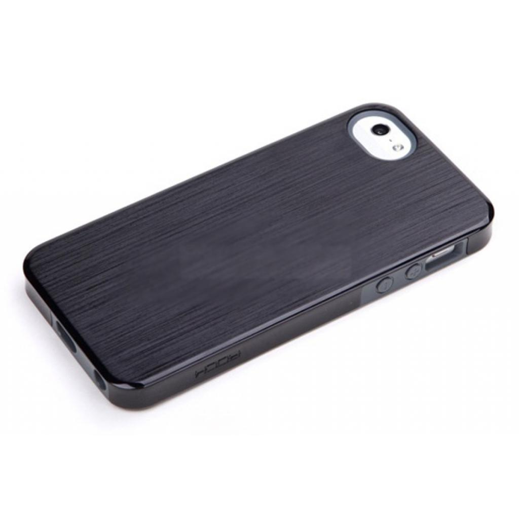 Чехол для моб. телефона Rock iPhone 5 Texture series black (iphone5-24872)