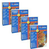 Обложка для переплета bindMARK карт. Кантри А4 230 г/м2 (100 шт.) оранжевая (41717)