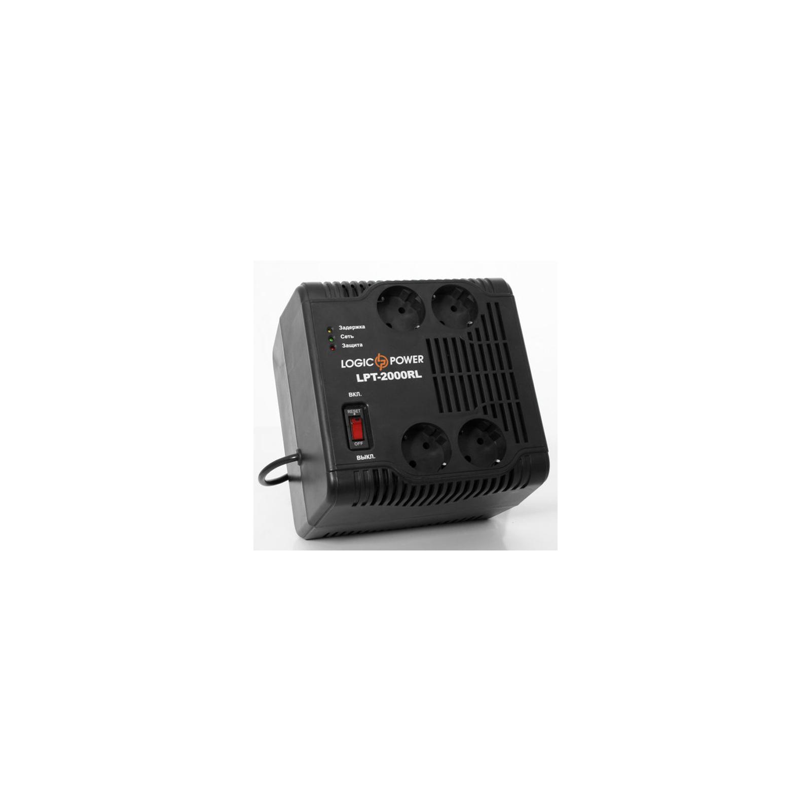 Стабилизатор LogicPower LPT-2000RL (3116) изображение 2