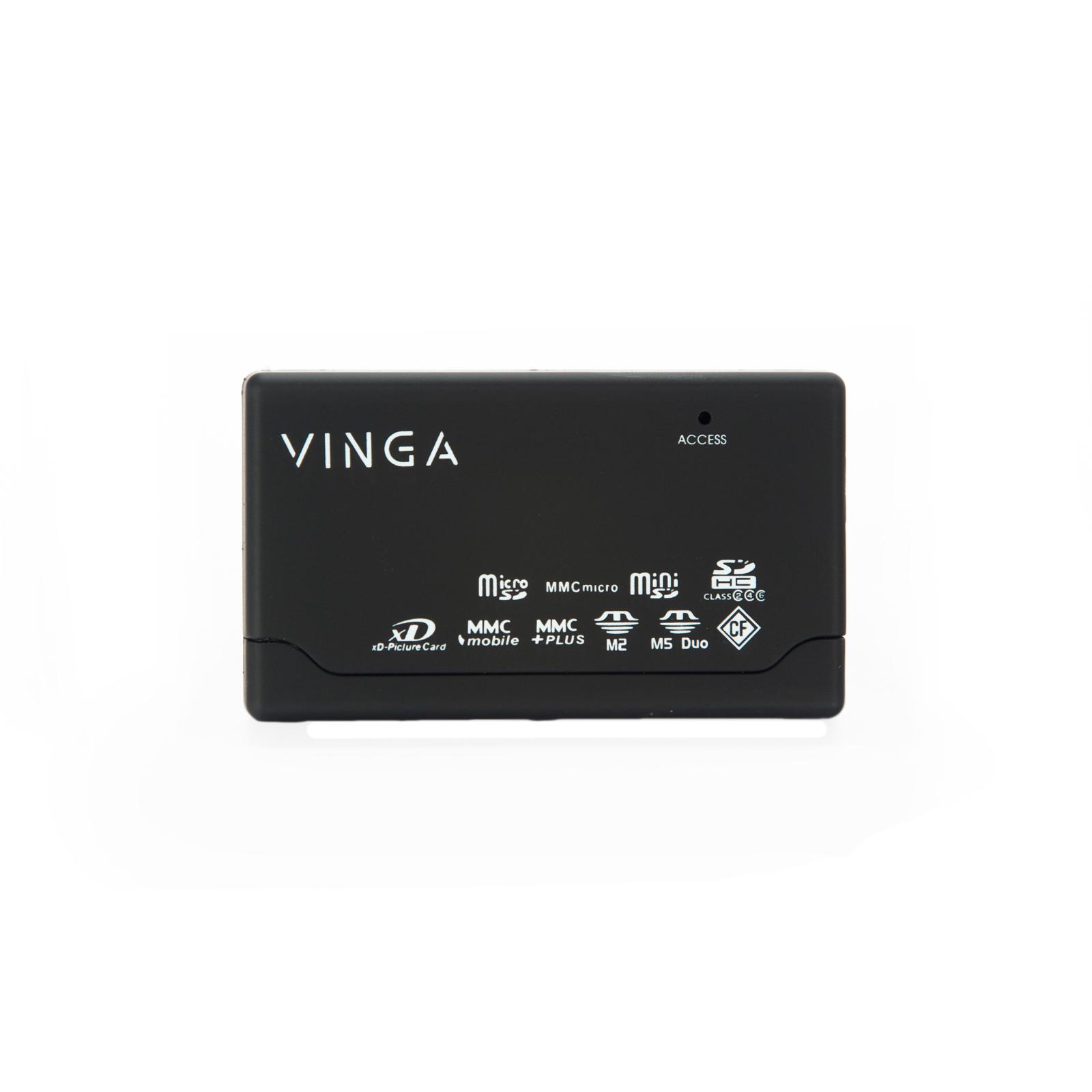 Считыватель флеш-карт Vinga CR010BK изображение 5