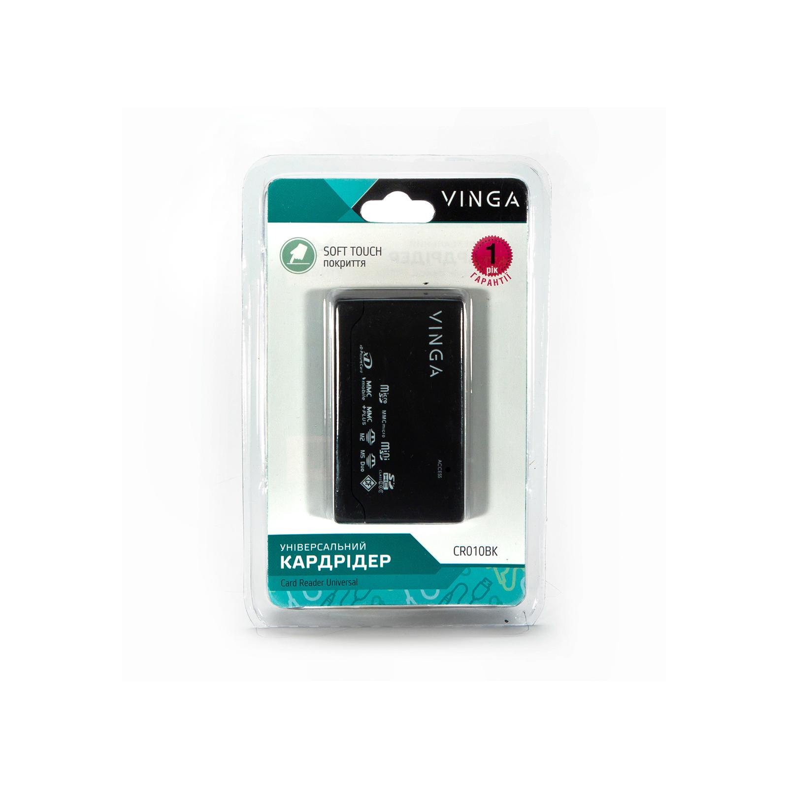 Считыватель флеш-карт Vinga CR010BK изображение 8