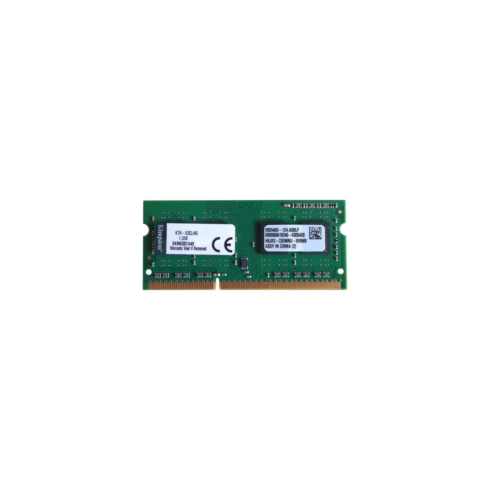 Модуль памяти для ноутбука SoDIMM DDR3 4GB 1600 MHz Kingston (KTH-X3CL/4G)