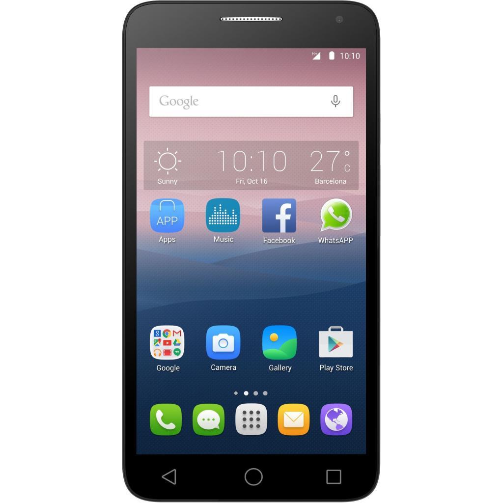 Мобильный телефон ALCATEL ONETOUCH 5025D Pop 3 (5.5) Metallic Silver (4894461318875)