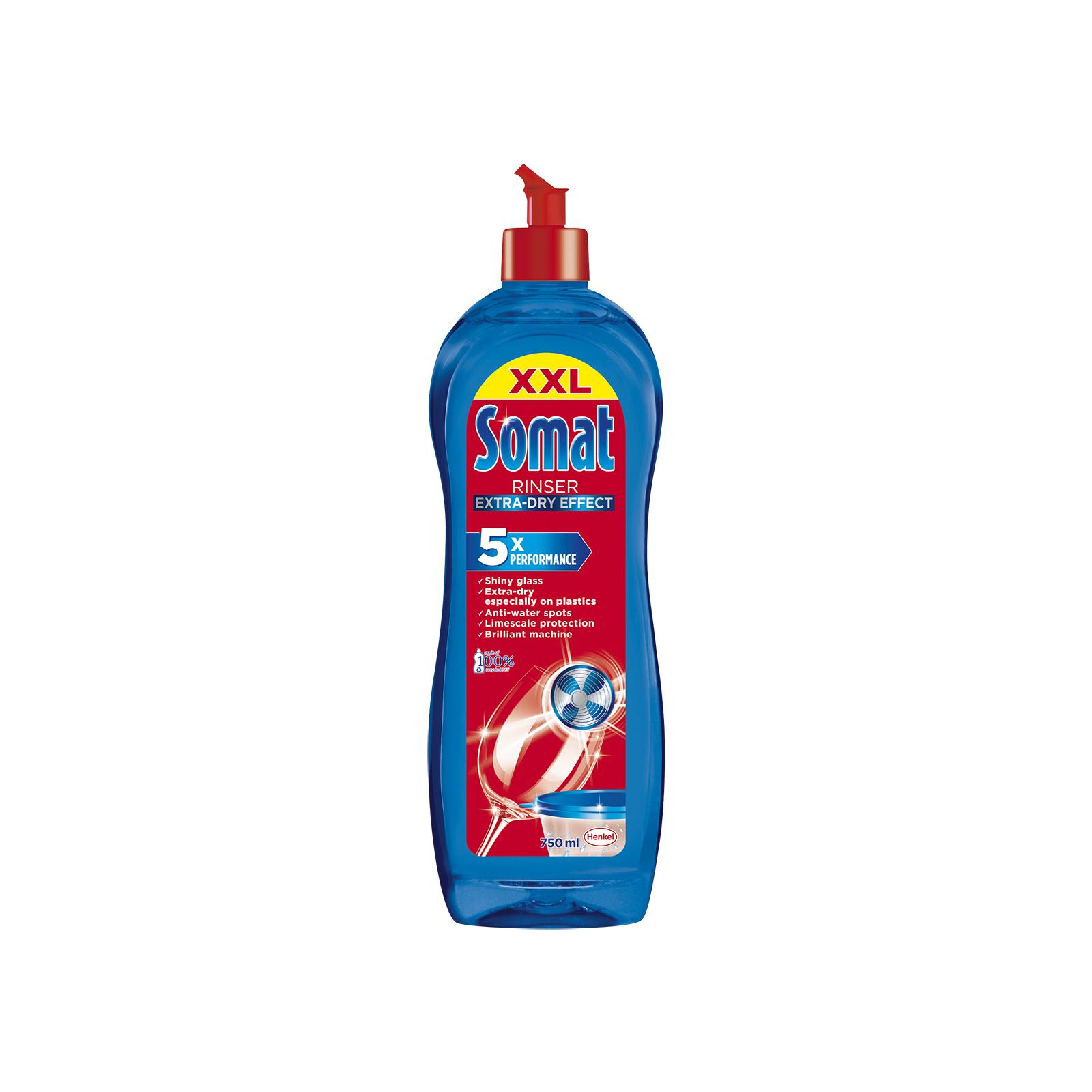 Средство для мытья посуды Somat Ополаскиватель Тройного действия 750 мл (9000100344098)