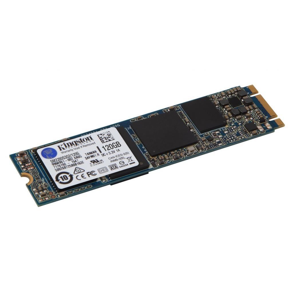 Накопитель SSD M.2 120GB Kingston (SM2280S3G2/120G) изображение 3