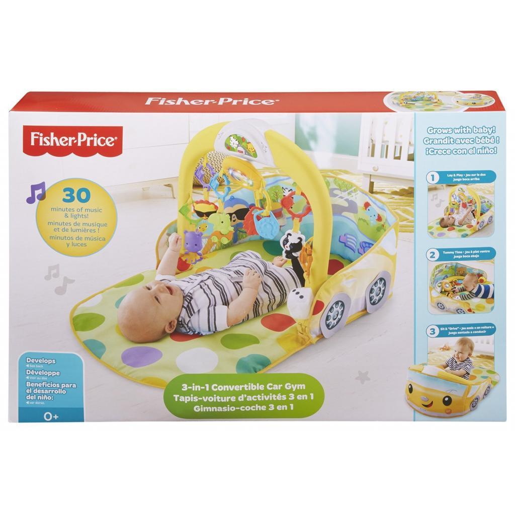 Детский коврик Fisher-Price Кабриолет 3 в 1 (DFP07) изображение 5