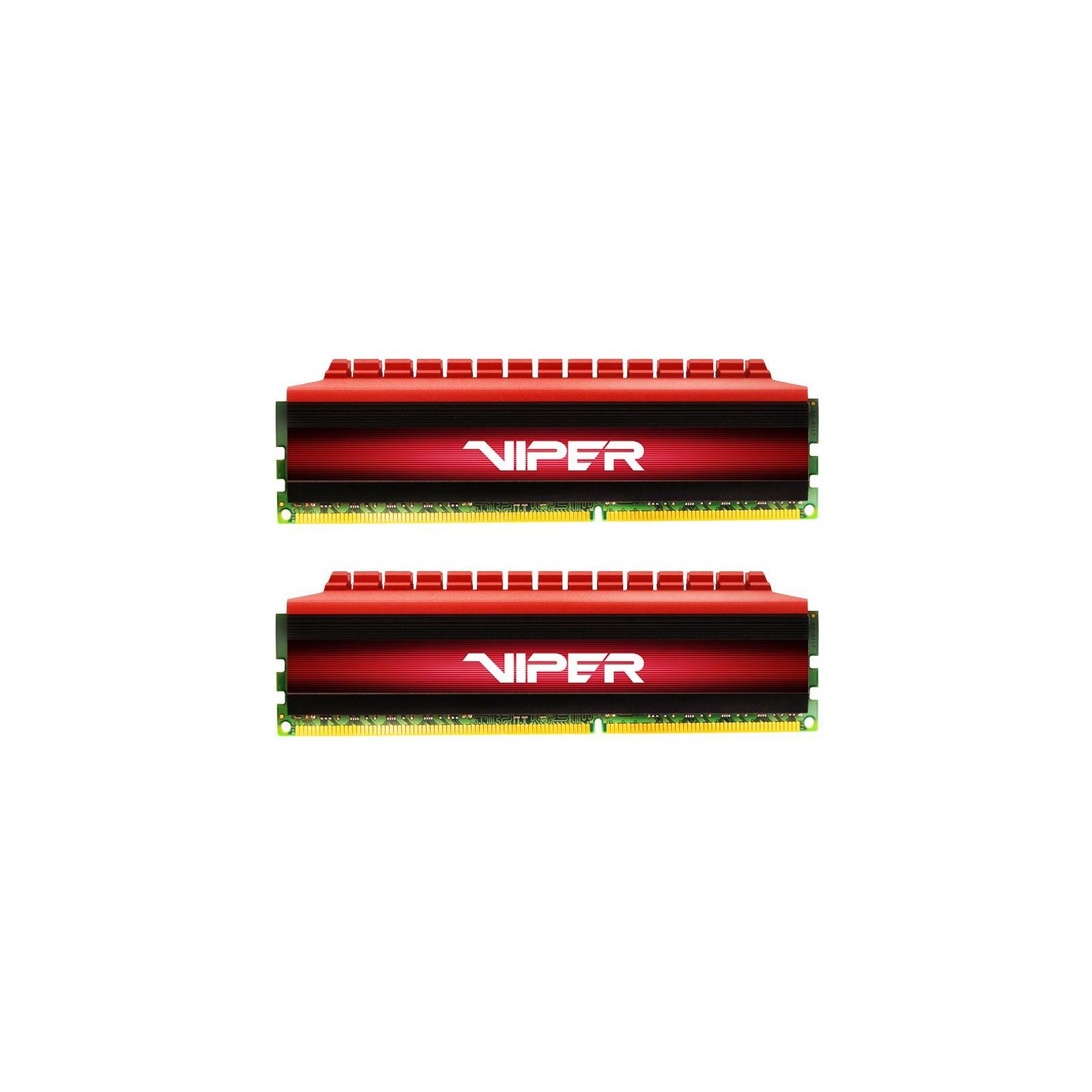 Модуль памяти для компьютера DDR4 16GB (2x8GB) 2400 MHz PE-V4 BLK/RED DUALCH Patriot (PV416G240C5K)