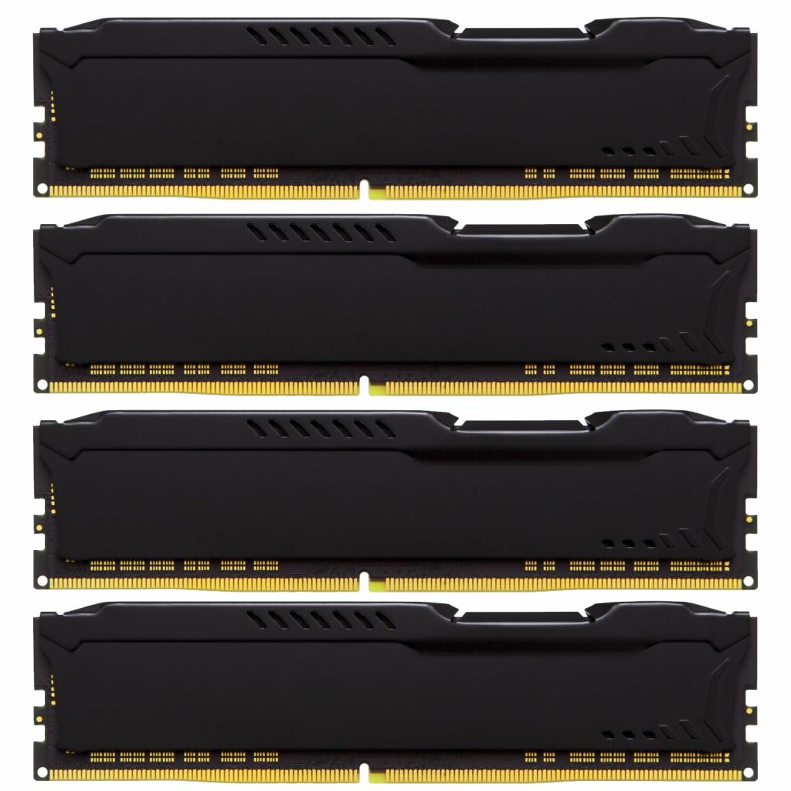 Модуль памяти для компьютера DDR4 64GB (4x16GB) 2133 MHz HyperX FURY Black Kingston (HX421C14FBK4/64) изображение 3