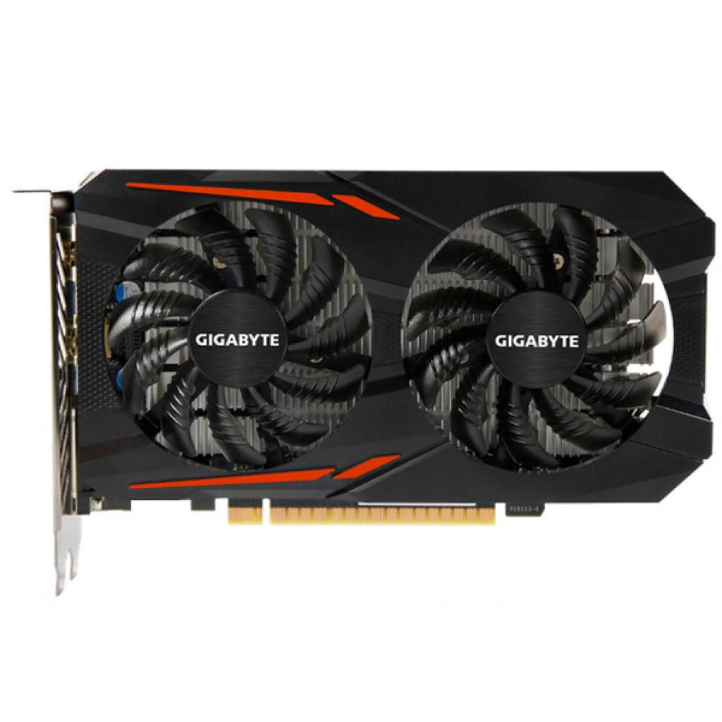 Відеокарта GIGABYTE GeForce GTX1050 Ti 4096Mb OC (GV-N105TOC-4GD) зображення 2