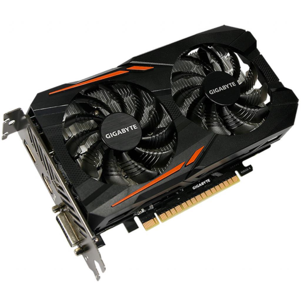 Відеокарта GIGABYTE GeForce GTX1050 Ti 4096Mb OC (GV-N105TOC-4GD) зображення 3