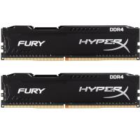 Модуль пам'яті для комп'ютера DDR4 16GB (2x8GB) 2666 MHz HyperX FURY Black Kingston (HX426C16FB2K2/16)