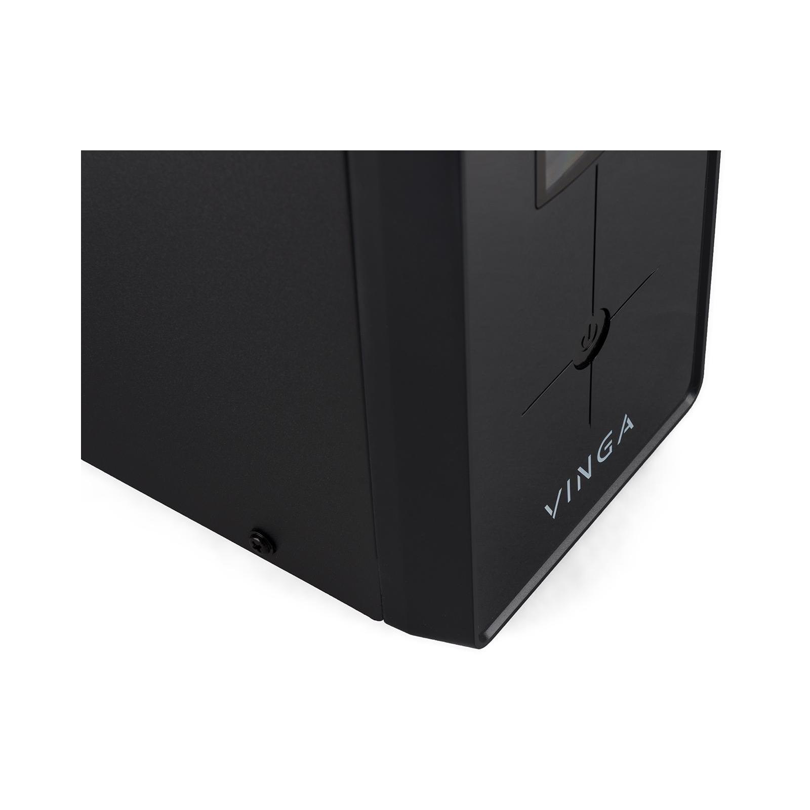 Источник бесперебойного питания Vinga LCD 1200VA metal case (VPC-1200M) изображение 7