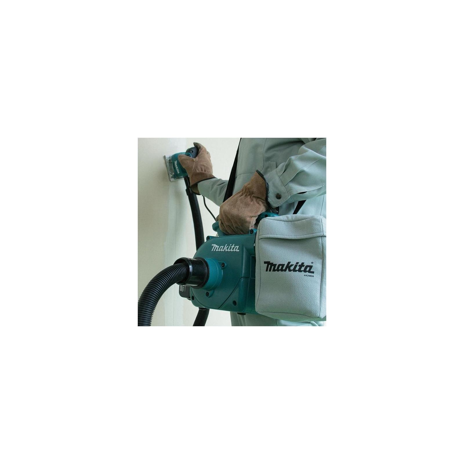 Пылесос строительный Makita аккумуляторный LXT, 18В, 54Вт, 3л (DVC350Z) изображение 3