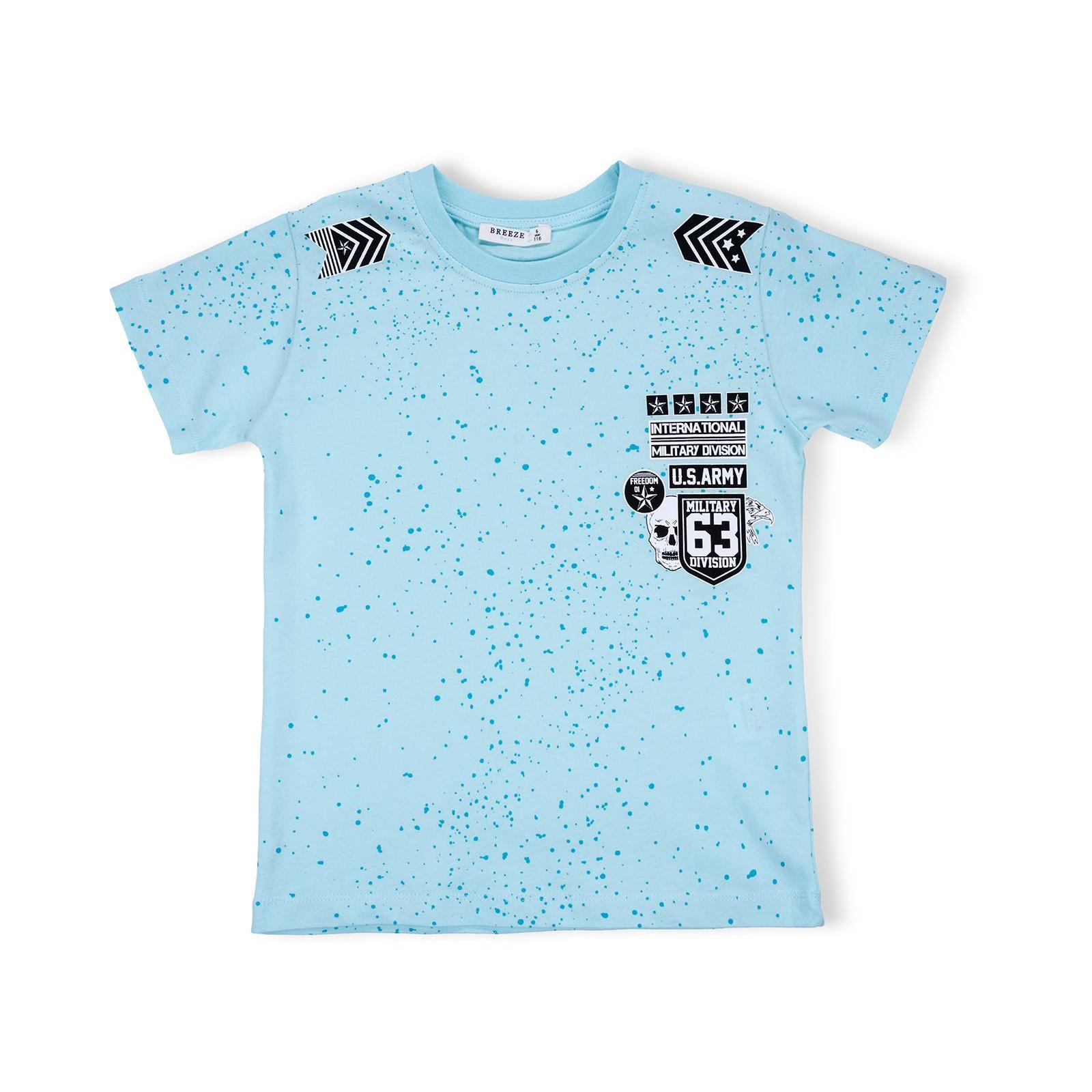 "Футболка детская Breeze ""63"" (10151-152B-blue)"