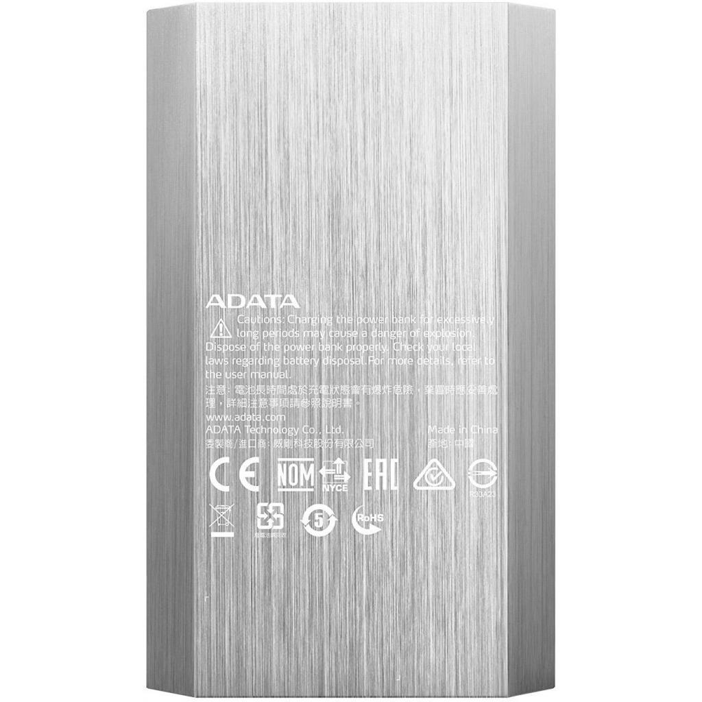 Батарея универсальная ADATA A10050 10050mAh Golden (AA10050-5V-CGD) изображение 3