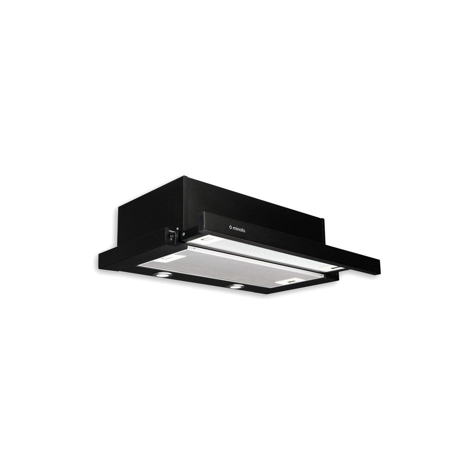 Вытяжка кухонная MINOLA HTL 6012 BL 450 LED