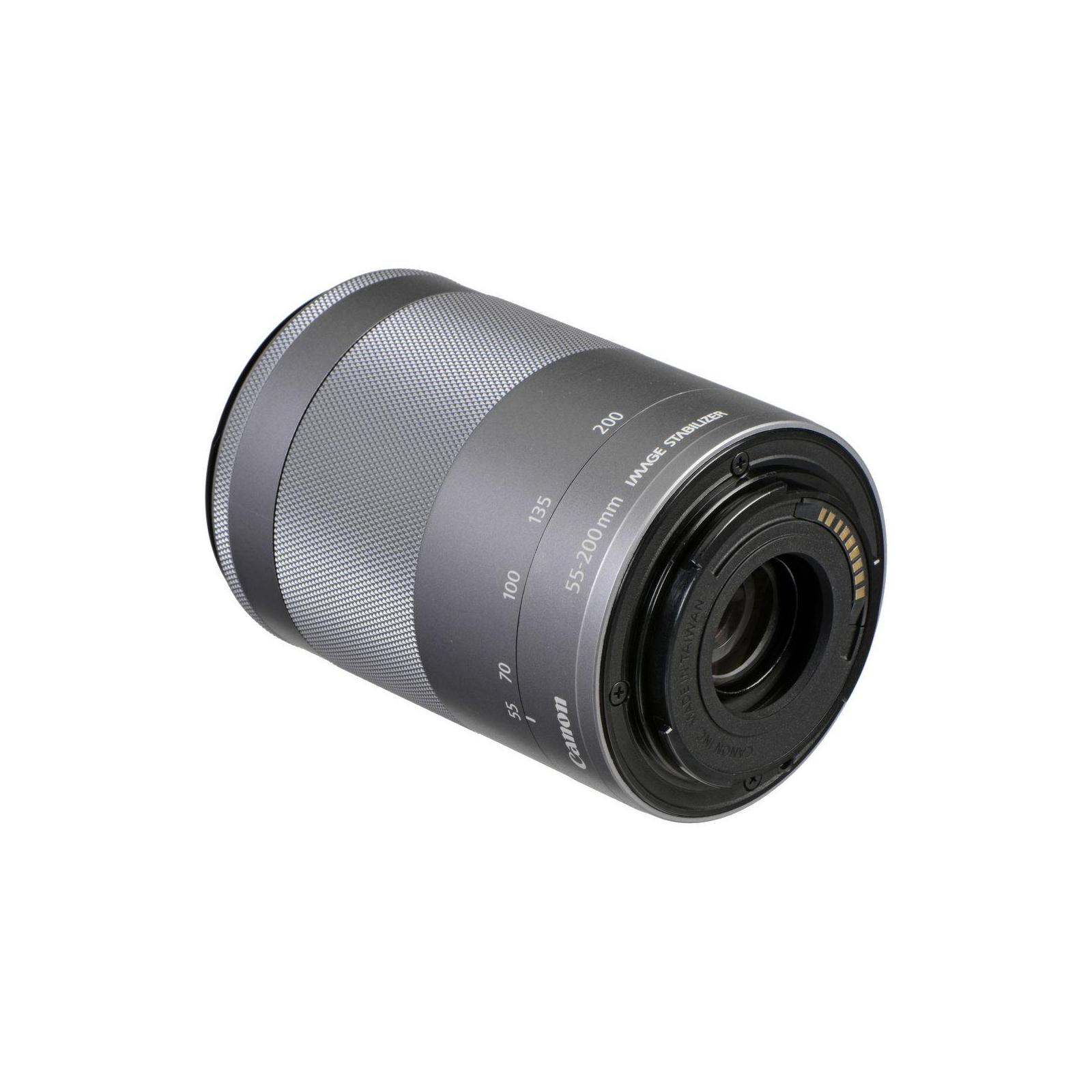 Объектив Canon EF-M 55-200mm f/4.5-6.3 IS STM Silver (1122C005) изображение 4