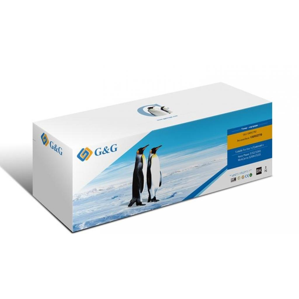 Картридж G&G для Xerox PH3052/3260/WC3215/3225 Black (2*3К) (G&G-106R02782)