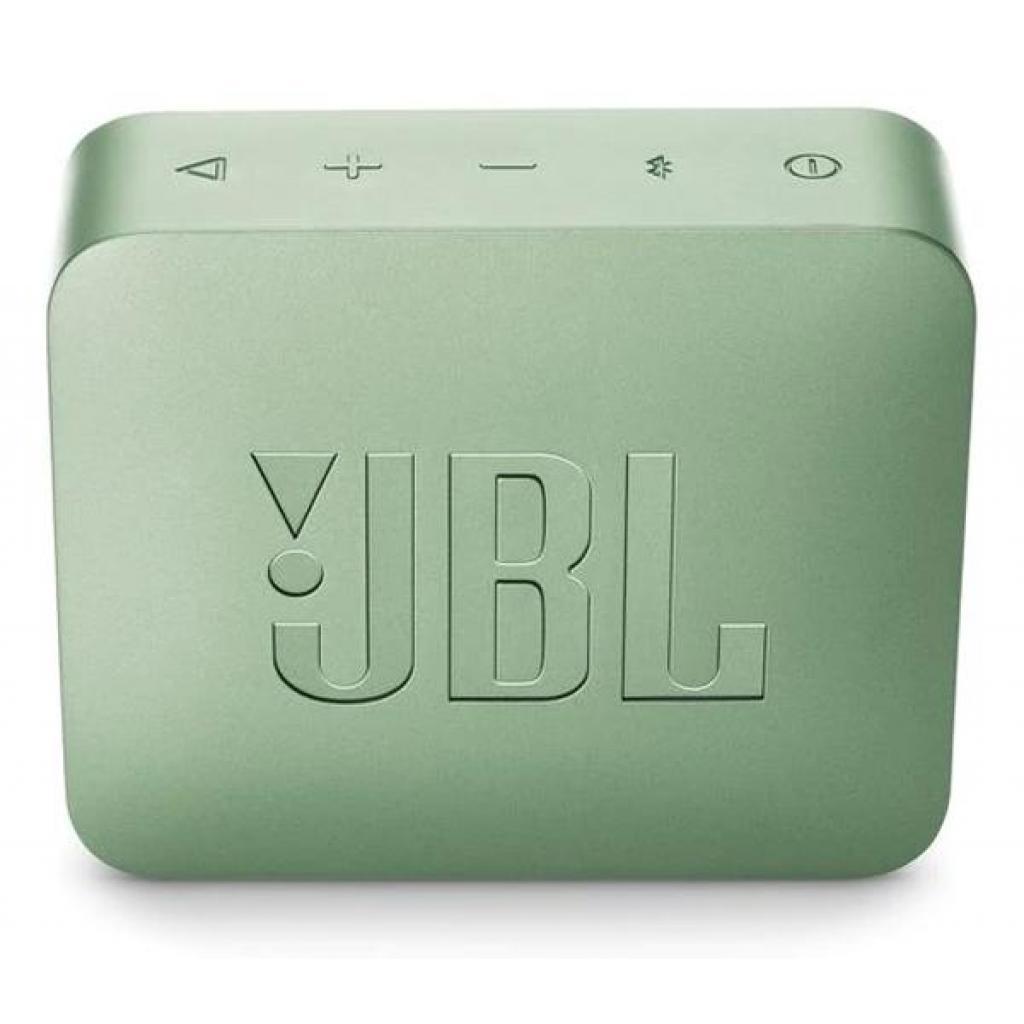 Акустическая система JBL GO 2 Mint (JBLGO2MINT) изображение 2