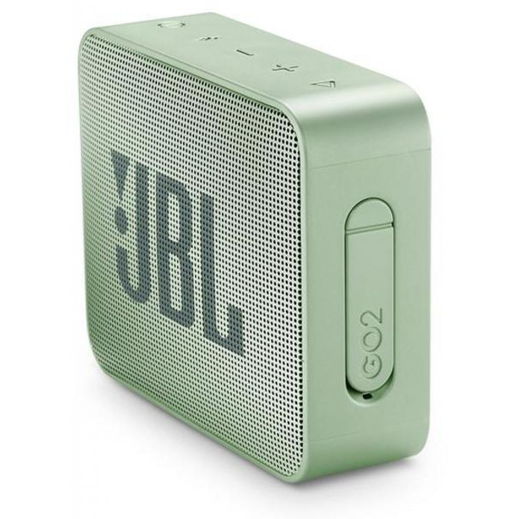 Акустическая система JBL GO 2 Mint (JBLGO2MINT) изображение 3