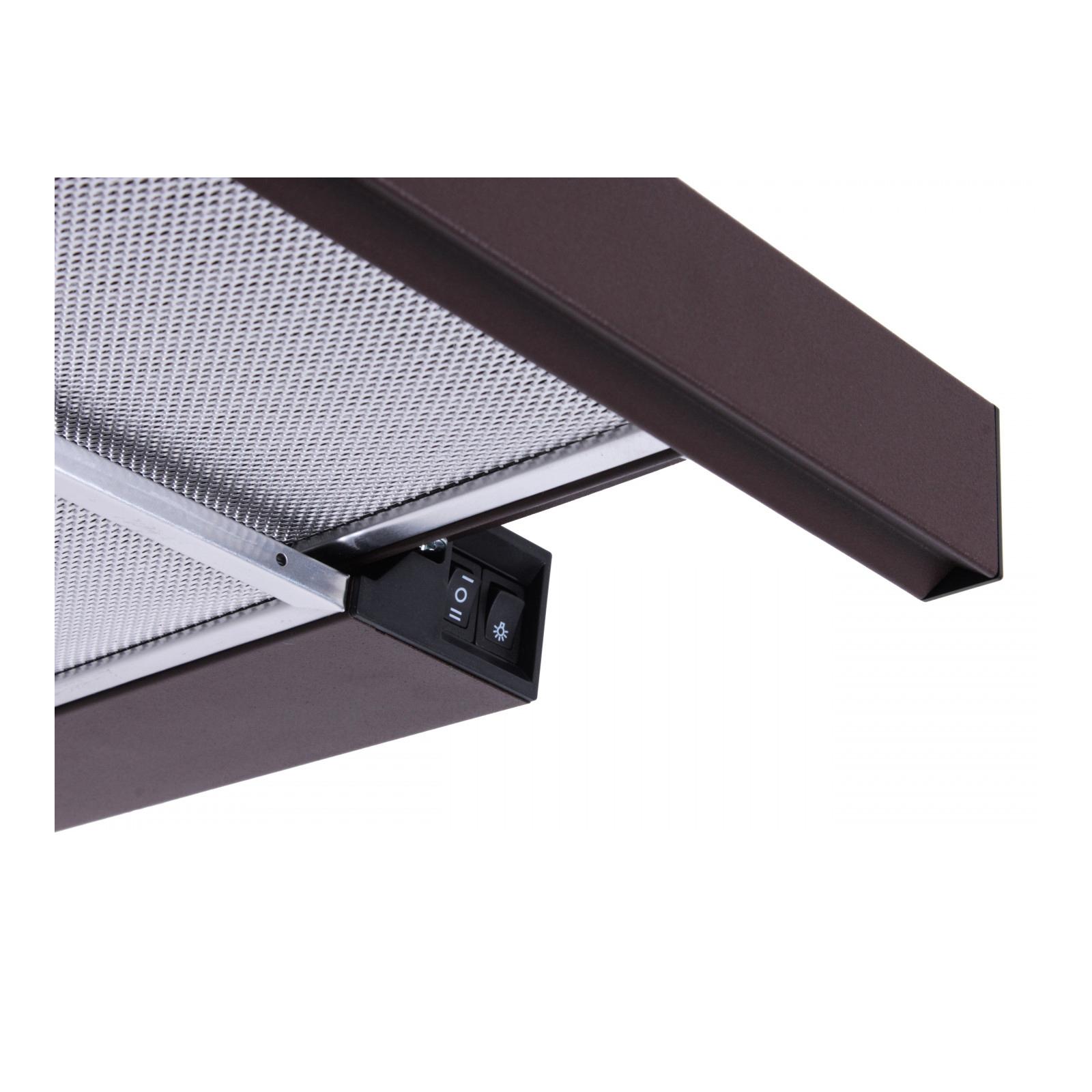 Вытяжка кухонная Ventolux GARDA 50 WH (700) SLIM изображение 3