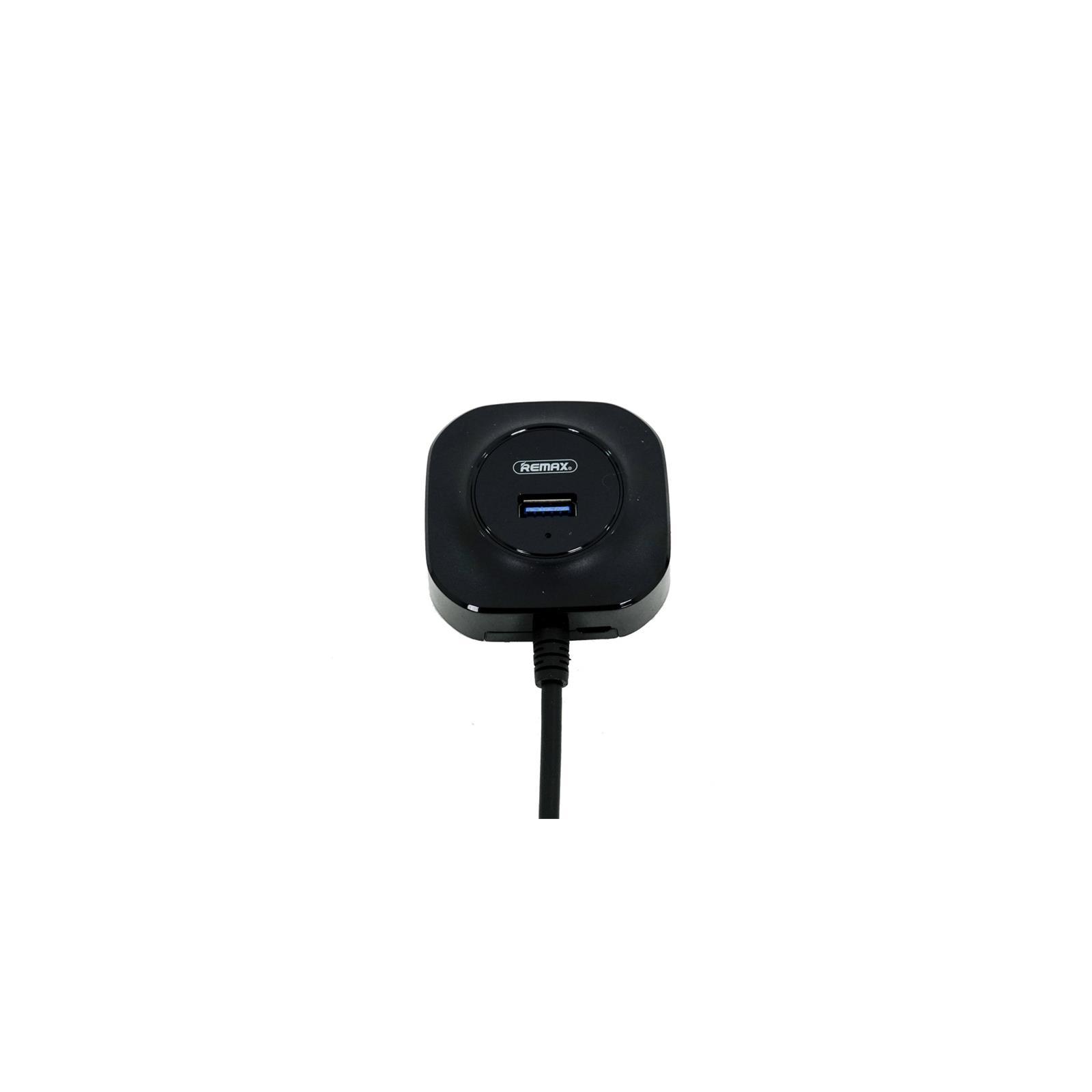 Концентратор Remax FONYE 4 порта USB 3.0, black (RU-U8-BLACK)