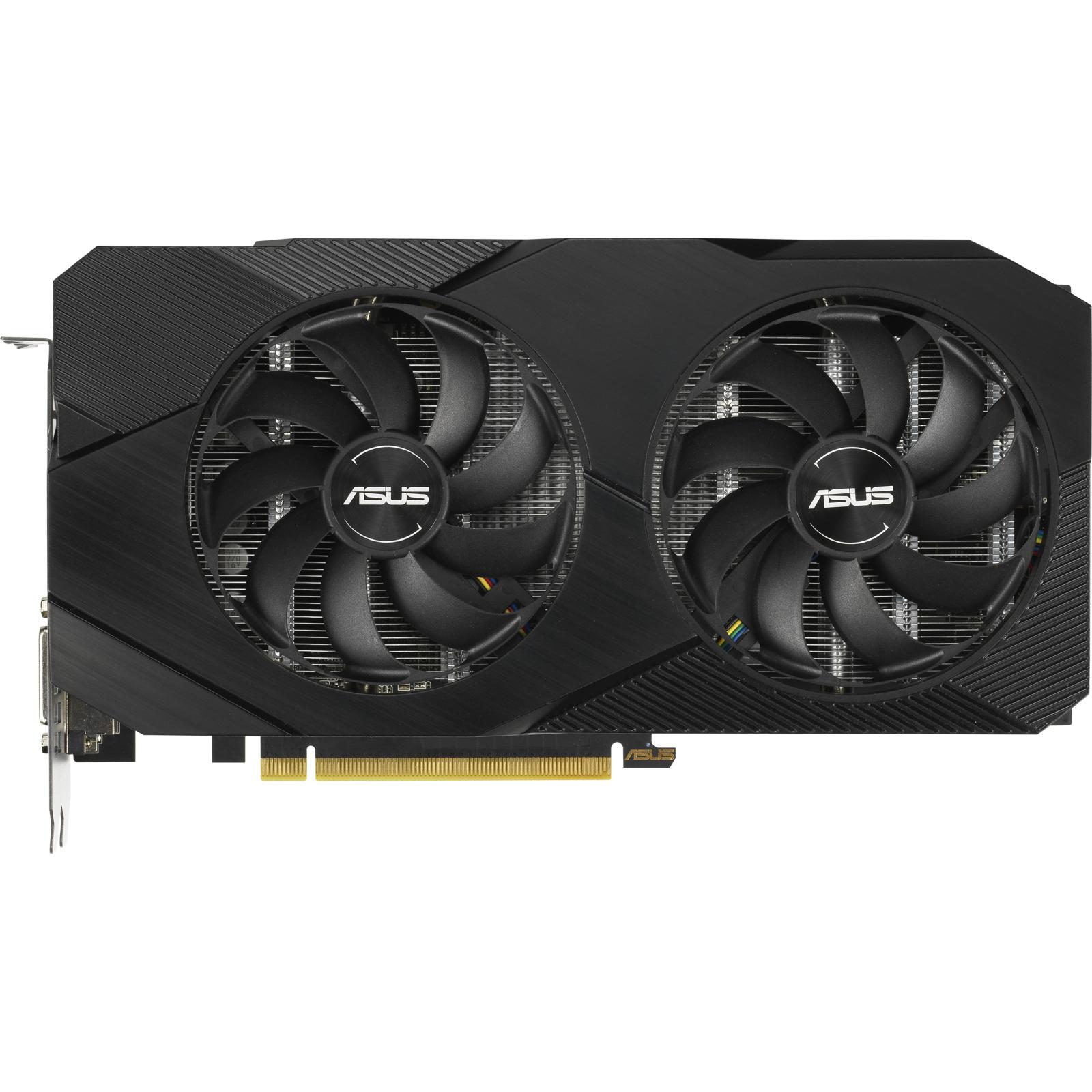 Відеокарта ASUS GeForce GTX1660 SUPER 6144Mb DUAL OC EVO (DUAL-GTX1660S-O6G-EVO) зображення 2