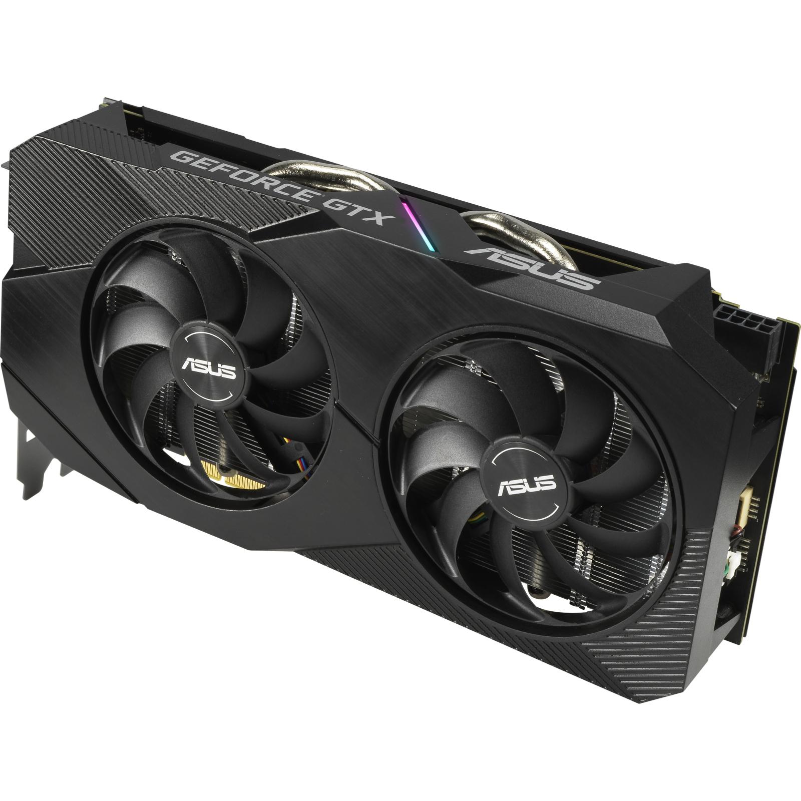 Відеокарта ASUS GeForce GTX1660 SUPER 6144Mb DUAL OC EVO (DUAL-GTX1660S-O6G-EVO) зображення 4