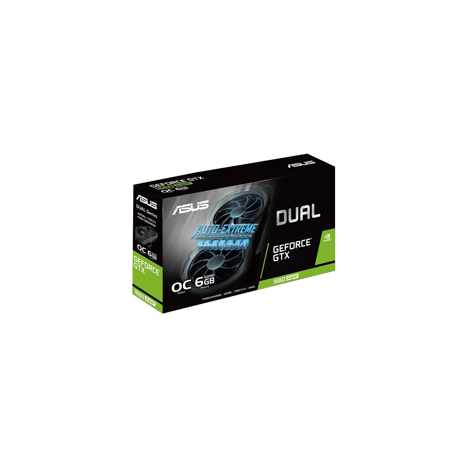Відеокарта ASUS GeForce GTX1660 SUPER 6144Mb DUAL OC EVO (DUAL-GTX1660S-O6G-EVO) зображення 9