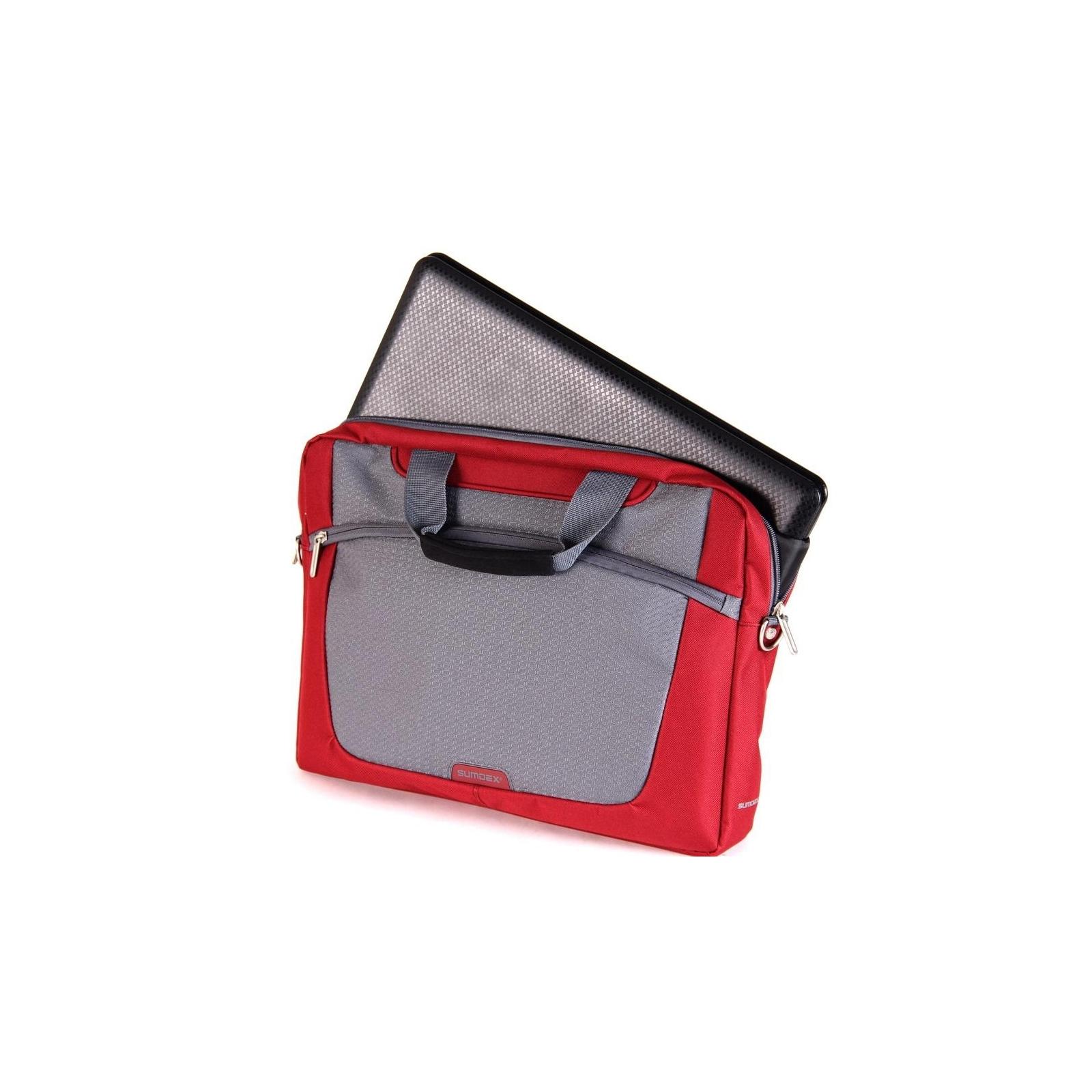 """Сумка для ноутбука Sumdex 16"""" PON-318 RD (PON-318RD) изображение 3"""