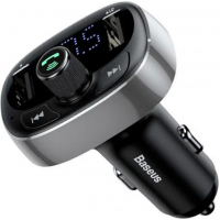 FM модулятор Baseus T typed Bluetooth MP3 Tarnish (CCALL-TM01)