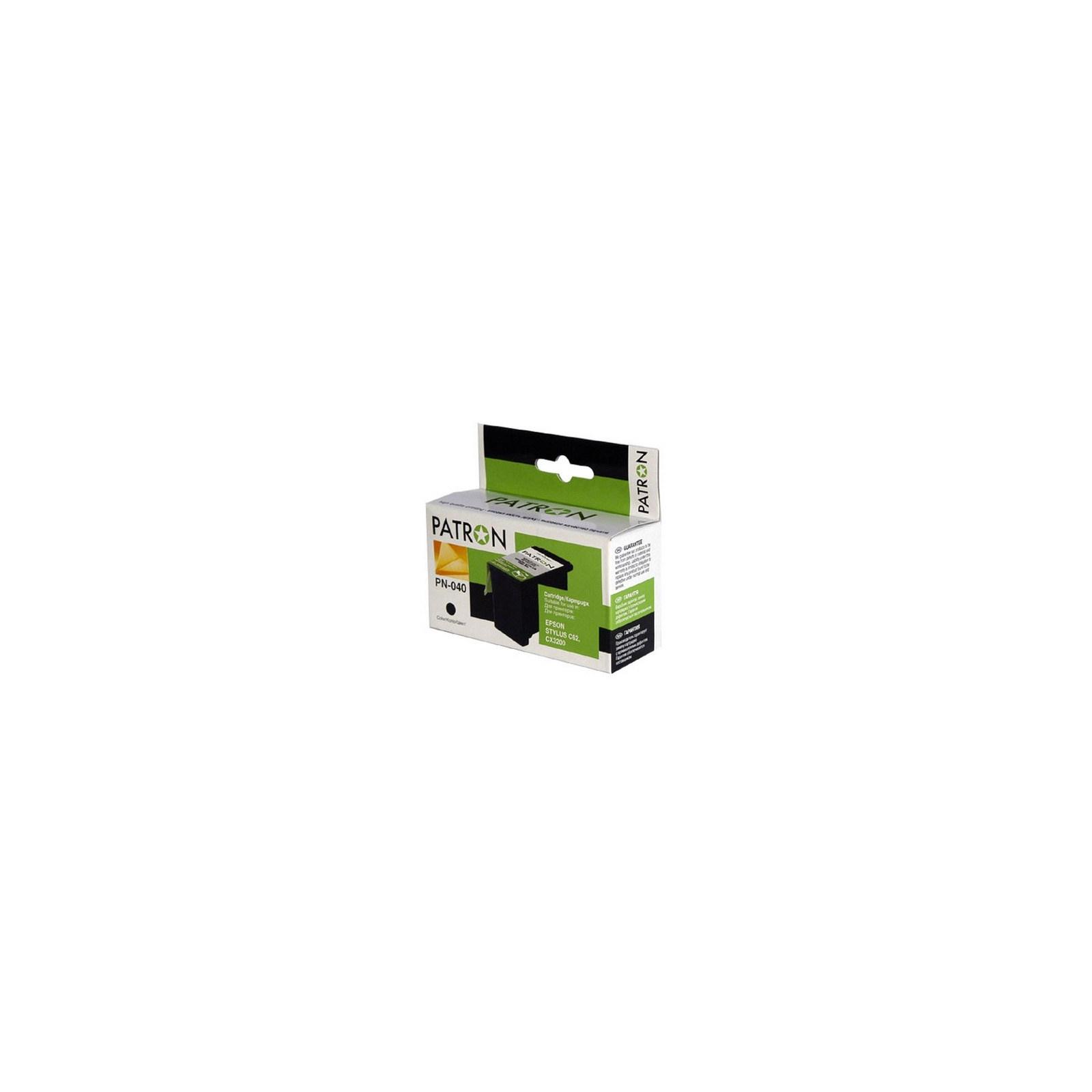 Картридж PATRON для EPSON StC62, CX3200 black (CI-EPS-T040140-B-PR)