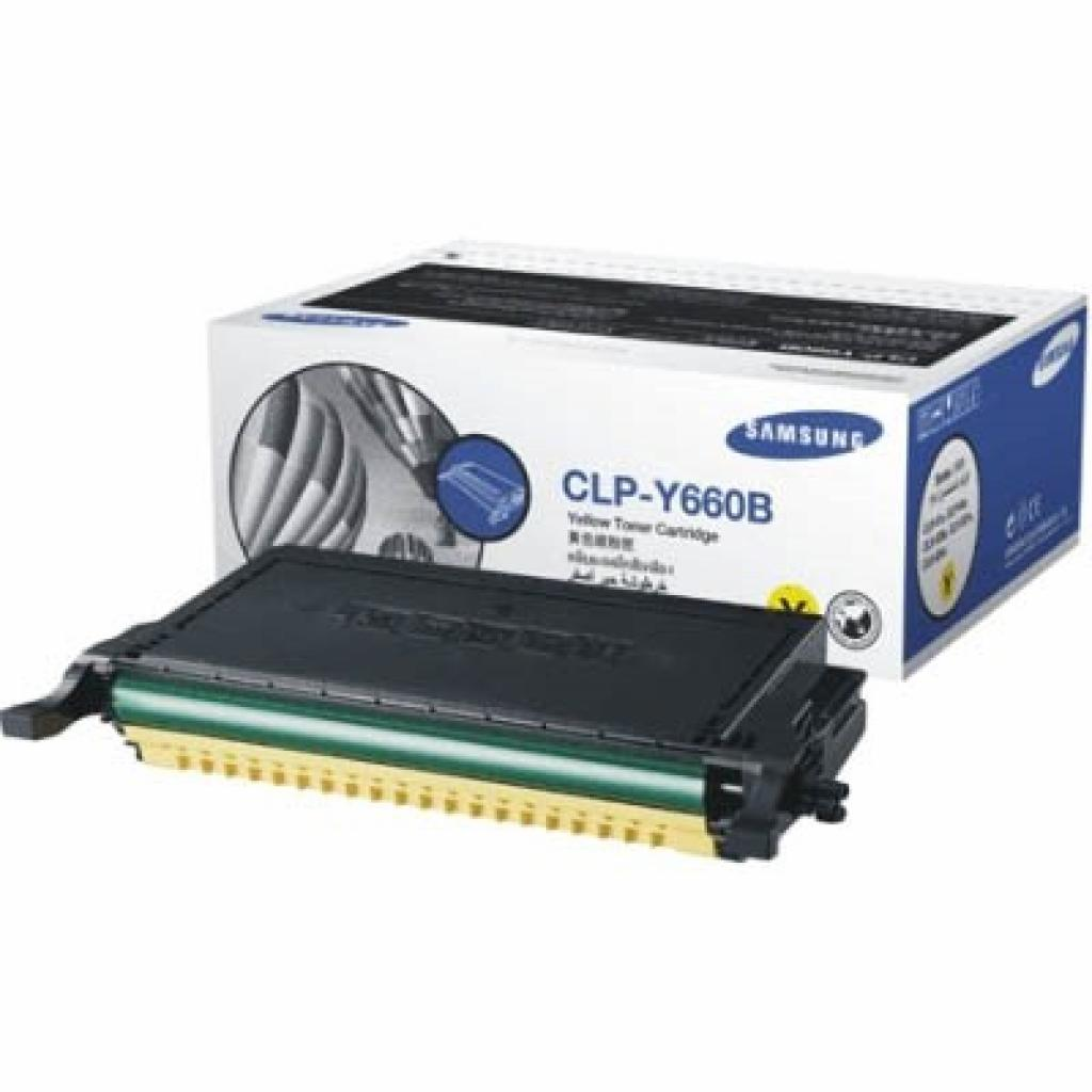 Картридж Samsung CLP-610ND/ 660N/ ND yellow (CLP-Y660B)