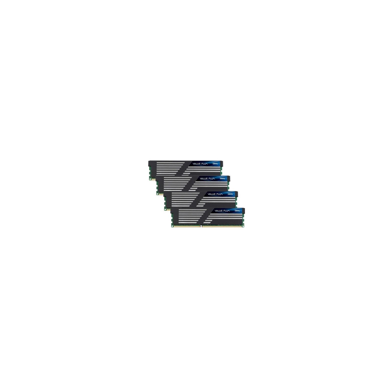 Модуль памяти для компьютера DDR3 16GB (4x4GB) 1600 MHz GEIL (GVP316GB1600C9QC)
