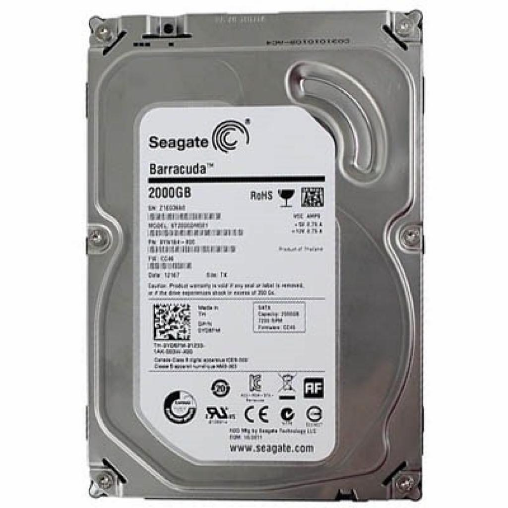 "Жесткий диск 3.5"" 2TB Seagate (ST2000DM001)"