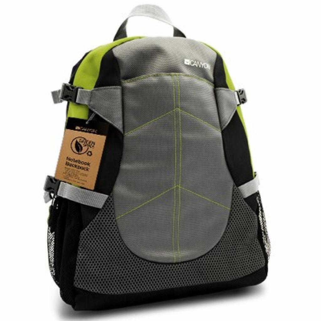 Рюкзак для ноутбука CANYON 15.6 Green series (CNF-NB04G)