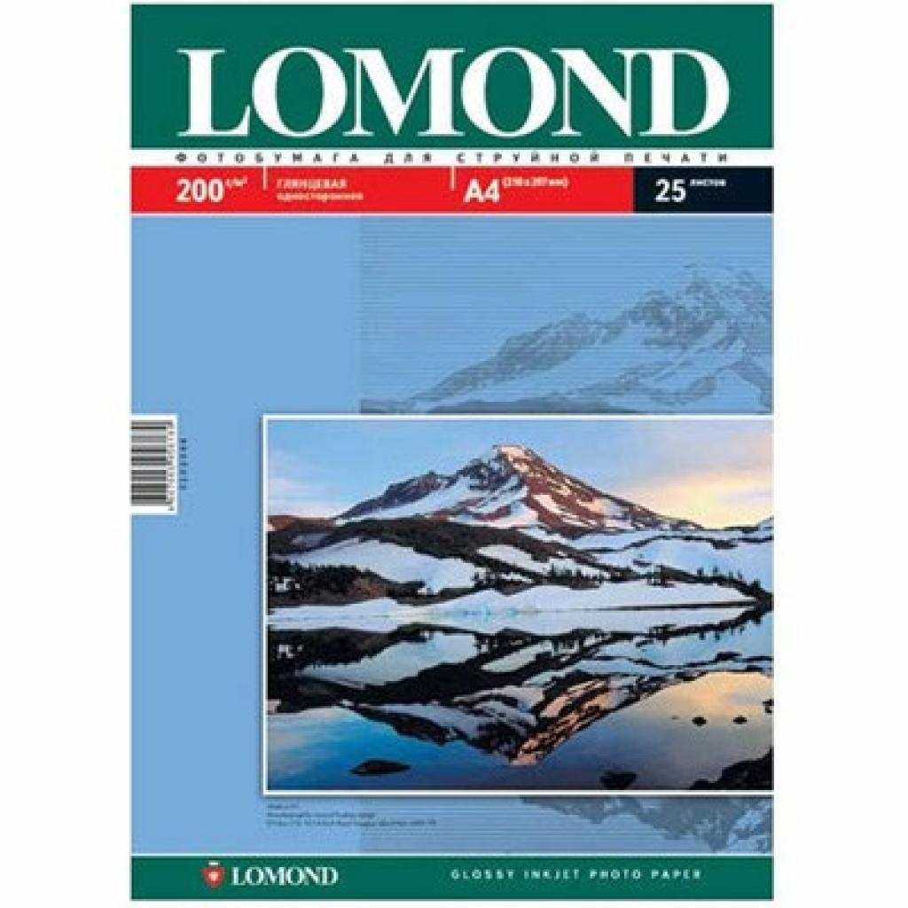 Бумага Lomond A4 Photo Paper Glossy 200 (102046)