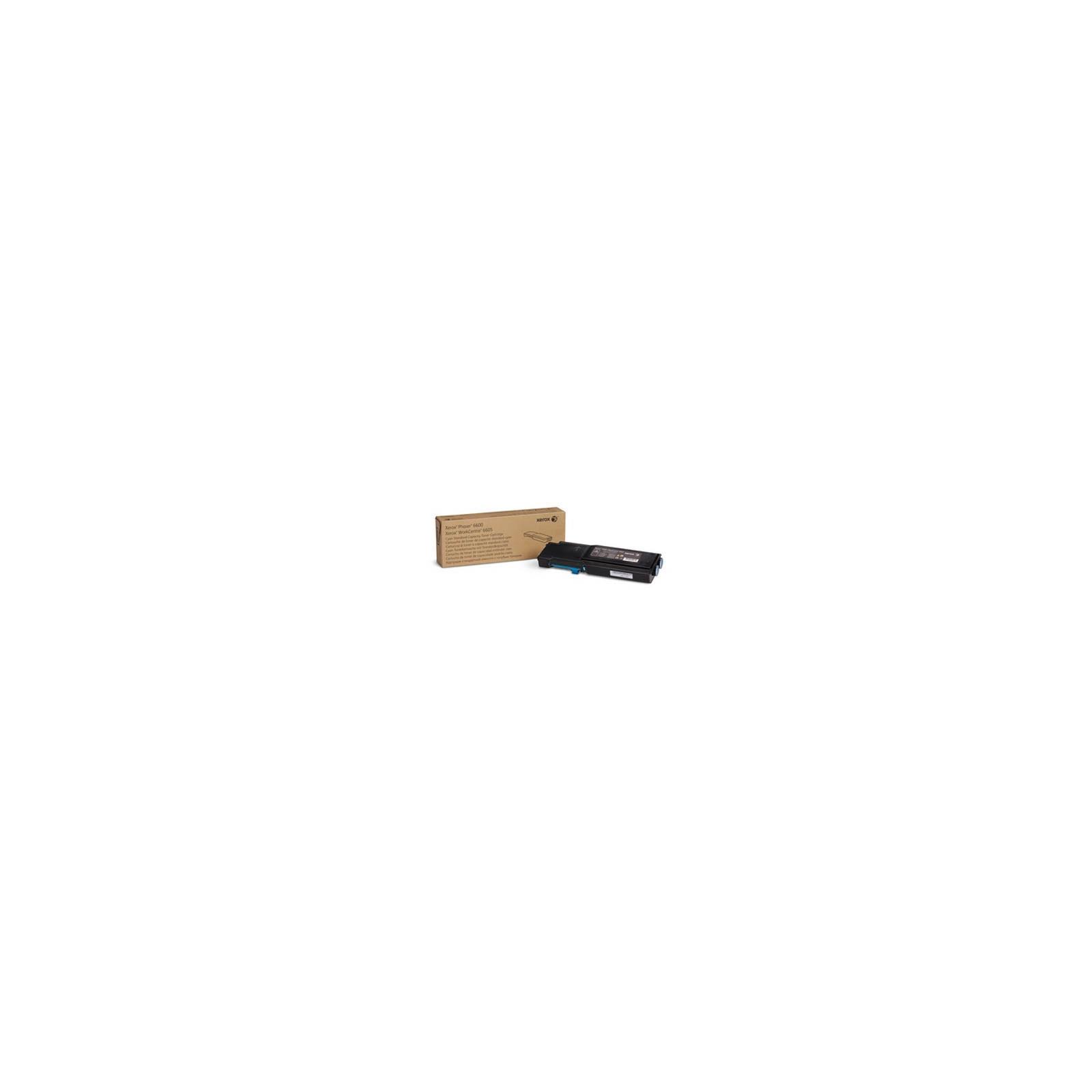 Тонер-картридж XEROX PH6600/ WC6605 Cyan (106R02249)