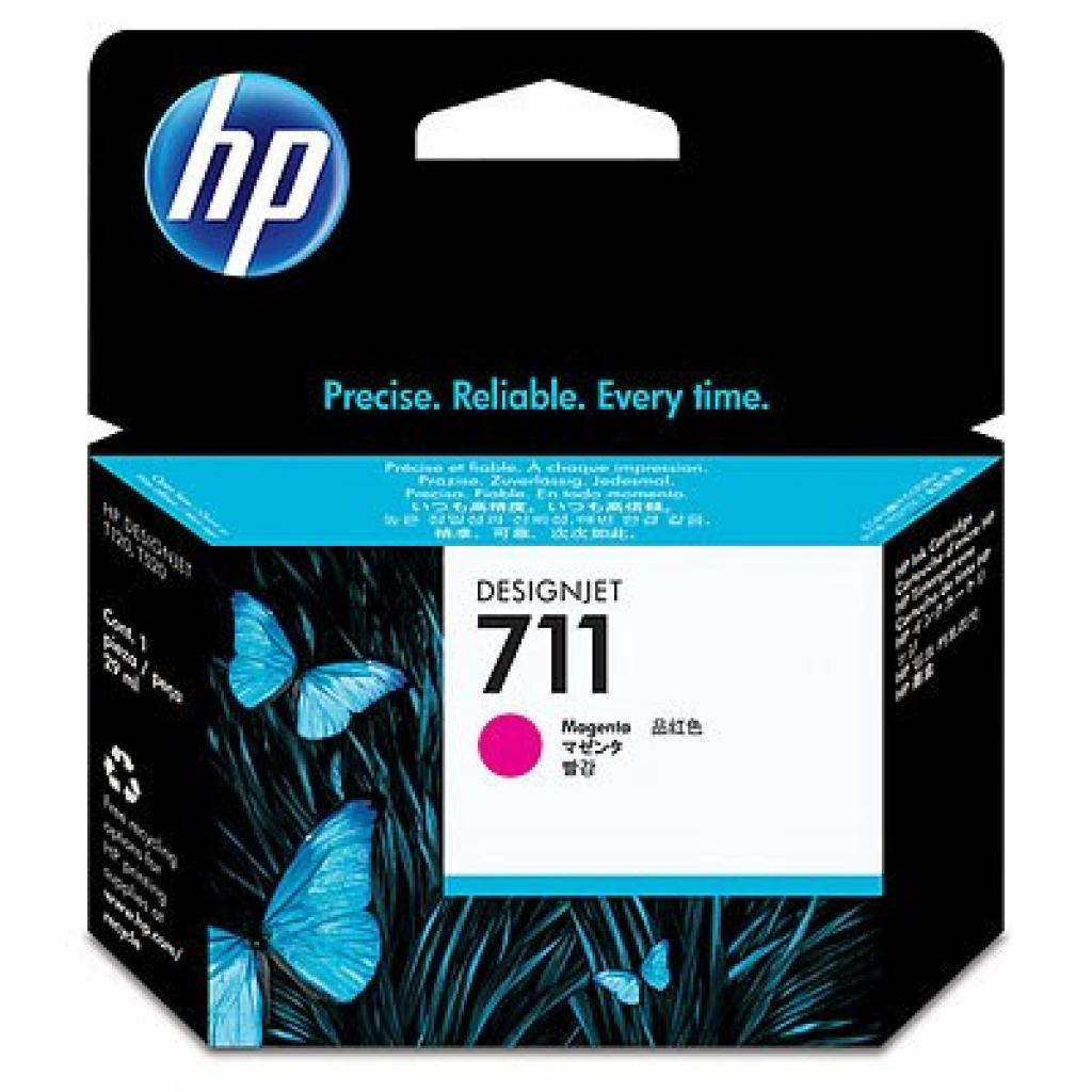 Картридж HP DJ No.711 DesignJet 120/520 Magenta (CZ131A)