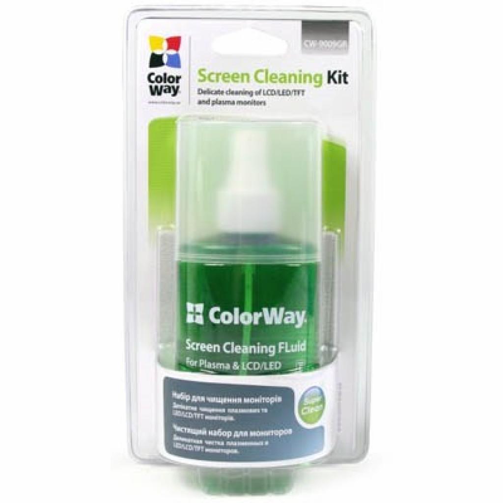 Универсальный чистящий набор ColorWay набір 2в1 серветка і спрей (CW-9009GR)