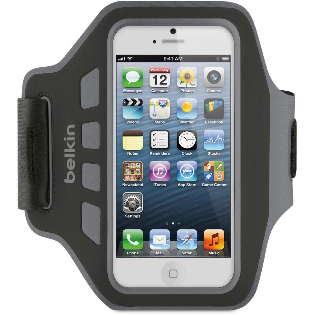 Чехол для моб. телефона Belkin iPhone 5/5s EaseFit Armband/Black-GRAY (F8W105vfC06)