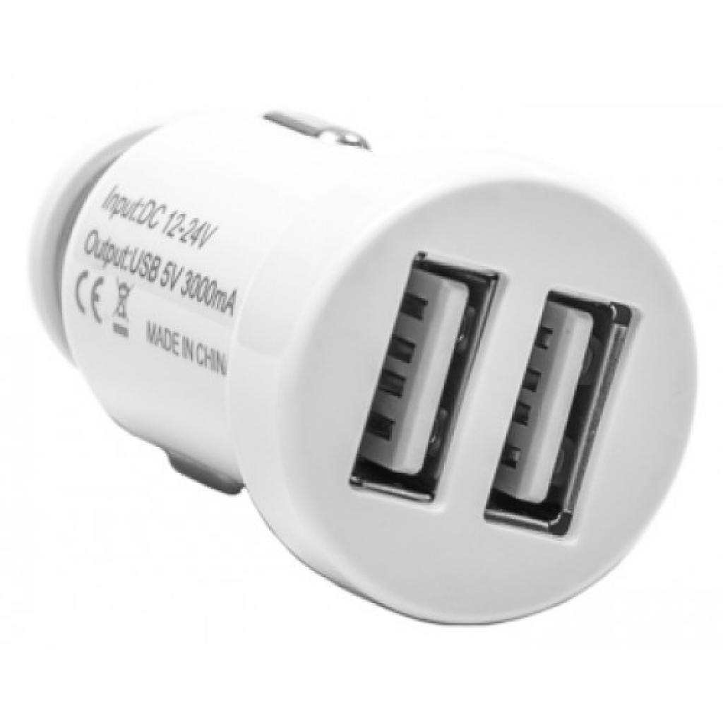 Зарядное устройство PowerPlant 2xUSB, 3A (DV00DV5015)