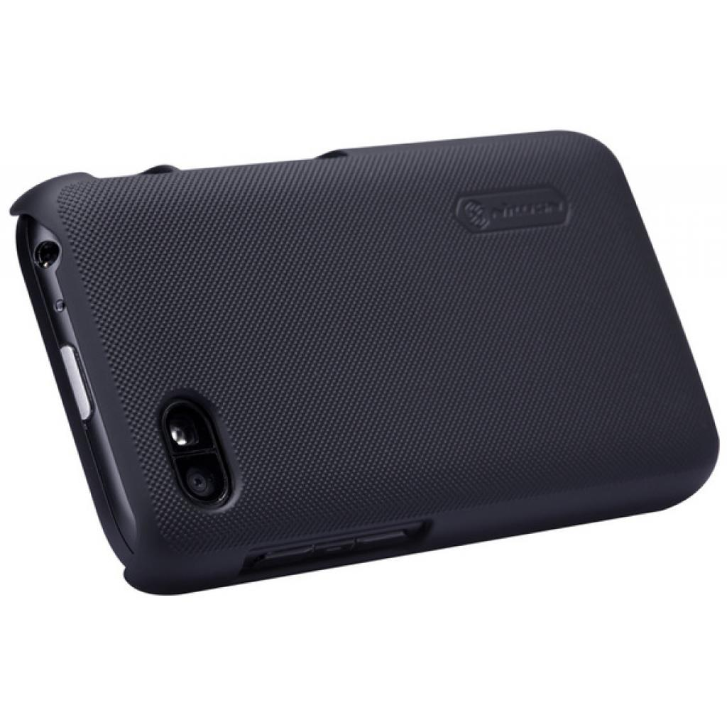 Чехол для моб. телефона NILLKIN для Bleckberry Q5 /Super Frosted Shield/Black (6120348) изображение 3