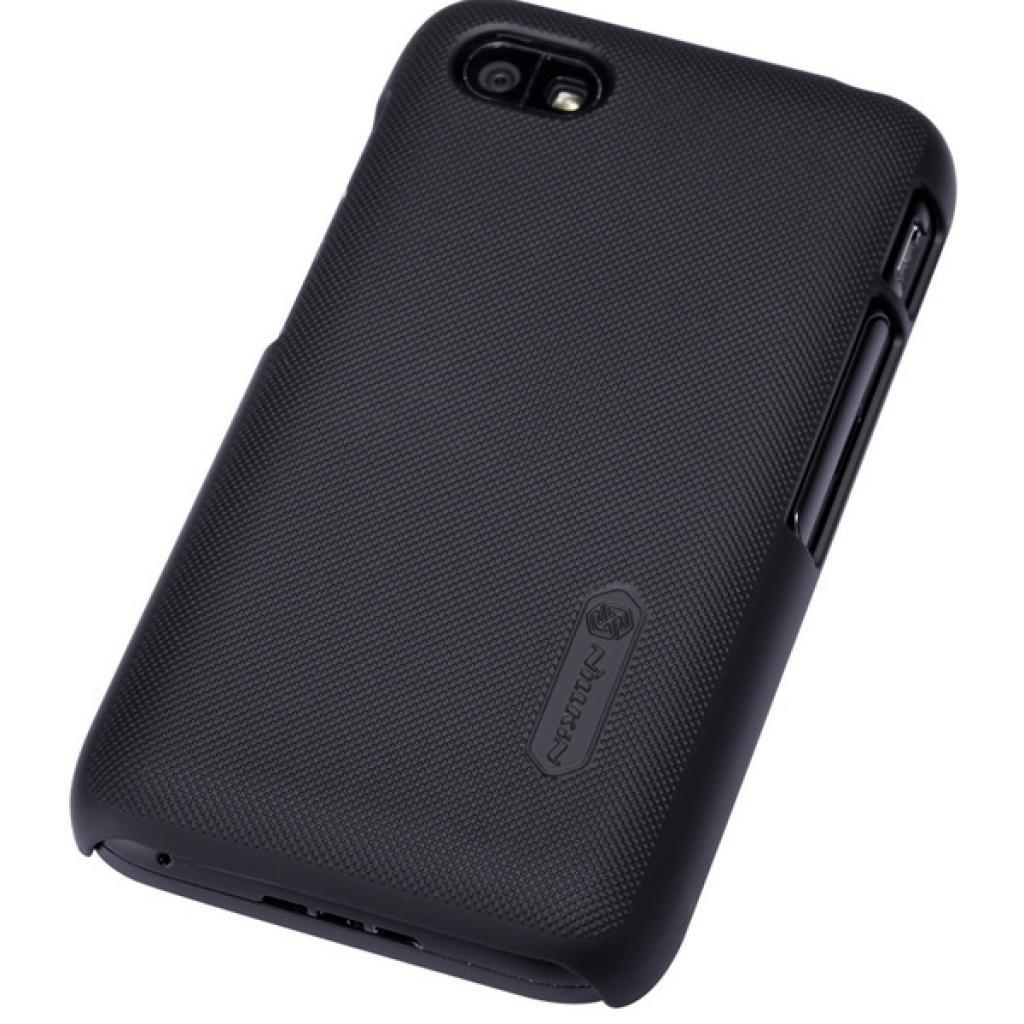 Чехол для моб. телефона NILLKIN для Bleckberry Q5 /Super Frosted Shield/Black (6120348) изображение 5