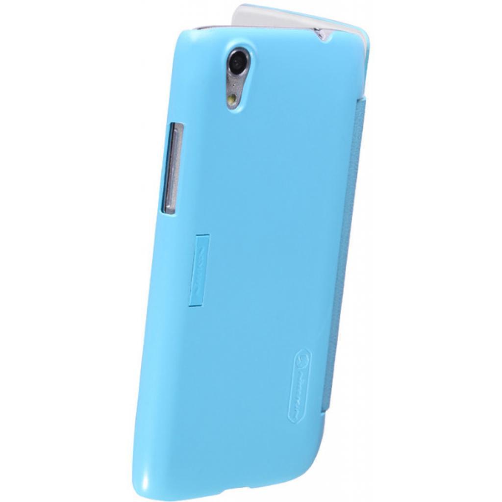 Чехол для моб. телефона NILLKIN для Lenovo S960 /Fresh/ Leather/Blue (6116653) изображение 2