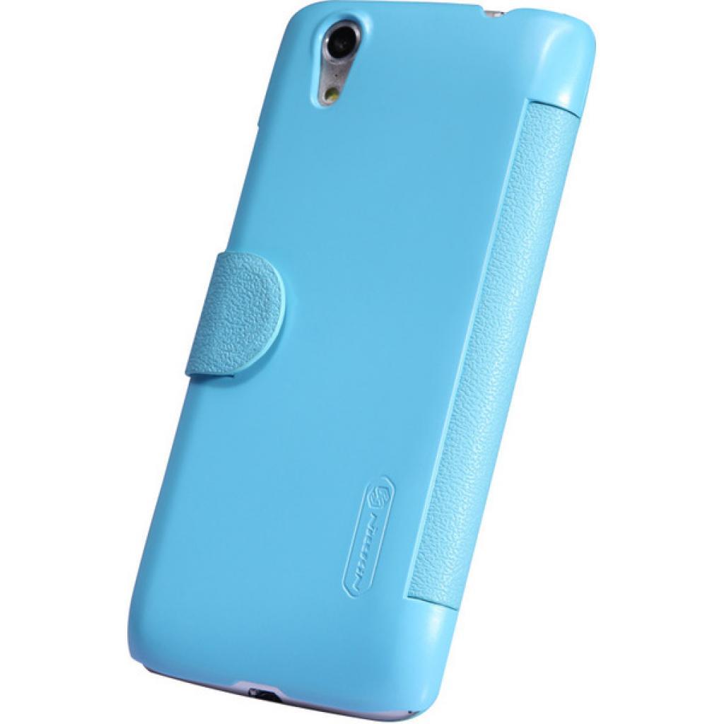 Чехол для моб. телефона NILLKIN для Lenovo S960 /Fresh/ Leather/Blue (6116653) изображение 3