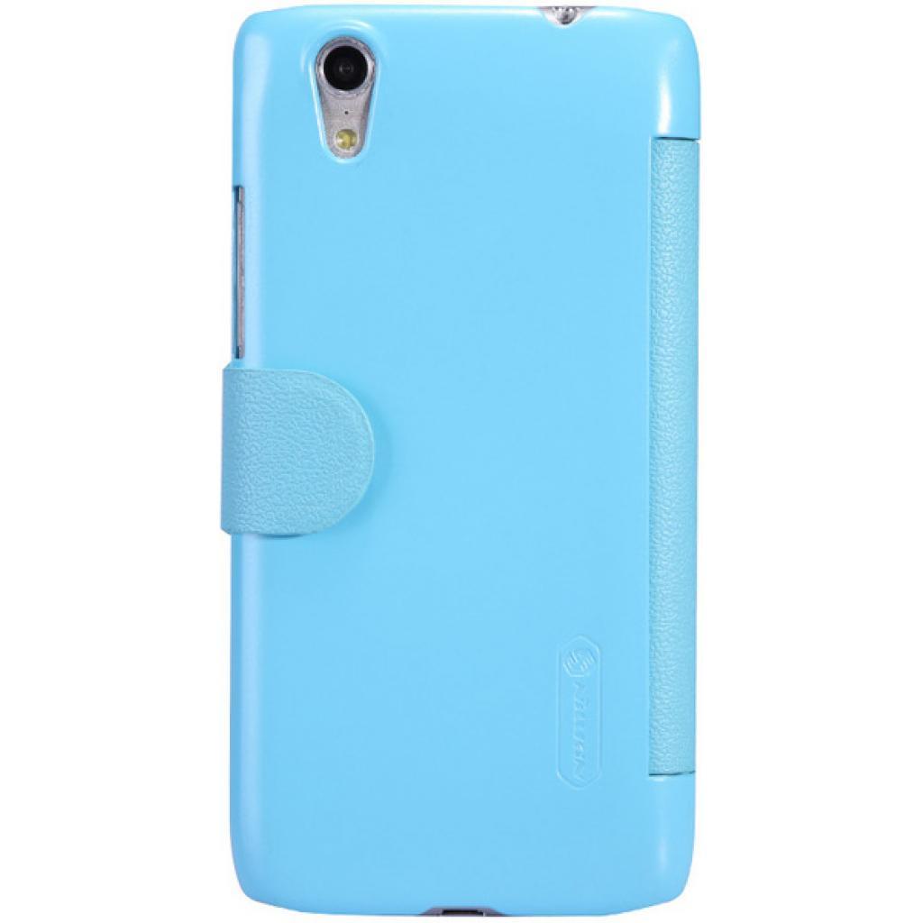 Чехол для моб. телефона NILLKIN для Lenovo S960 /Fresh/ Leather/Blue (6116653) изображение 4