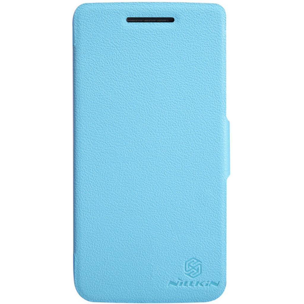 Чехол для моб. телефона NILLKIN для Lenovo S960 /Fresh/ Leather/Blue (6116653)